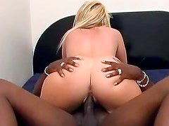 Sophie Dee fucked by a black cock