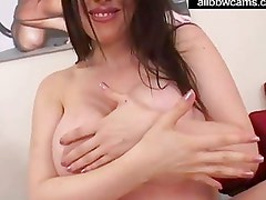 Daphne rosen gives a titjob with her massive juggs