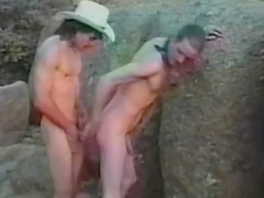 Young buddy Rent Carlisle is fucking his lovely partner outdoors
