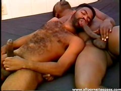 Black men with great bodies suck cock