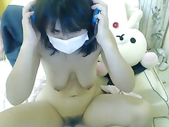 Japanese young beauty cute Makonyan masturbation shows pussy