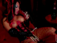 Asa Akira In Sexy Outfit Getting Her Tight Asian Pussy Fucked Hard