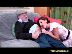 Papy and a friend fucking hard