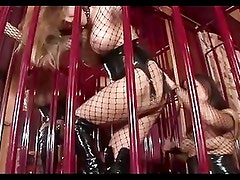Lesbian Hot Slutty Loves Cage Fu...