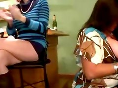 Cfnm real party amateurs stripper blowjob