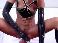Mistress demands anal from her subject then gets dildo