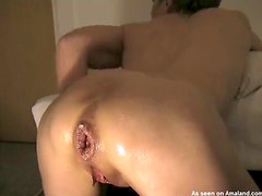 Really kinky action of slut getting fisted very hard