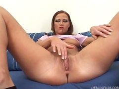 Tight pussy biatch nailed by big black cock here