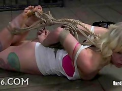 Fresh submissive bound