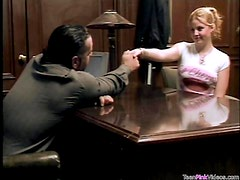 Cute Redhead Cherry Poppins Banged By Big Guy
