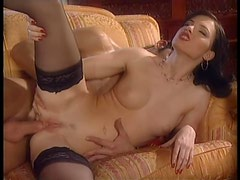 Wild Interracial Foursome With Jennifer Dark and Stacy Silver