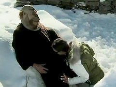 Hardcore Sex In The Snow With The Hot Brunette Sabrina Sweet