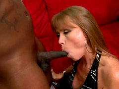 This MILF Wants To Donate Fucking a Black Cock