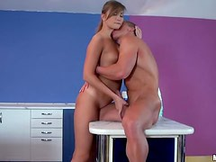Blonde Babe Jessika Lux Is Whipped and Creamed