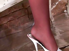 goldy in pantyhose