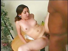 Cute young girl for an older black, p2