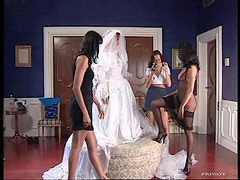 Wild Bride Has An Orgy With The Bridesmaids and Best Men