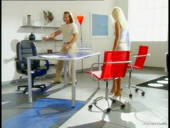 Boss Fucks The Ass Of His Gorgeous Blonde Assistant