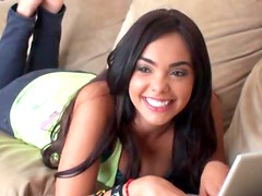 Cute Latina Teen Prefers Sex To Studying