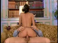 Exquisite Anal Brunette Michelle Wild Gets Fucked and Facialized