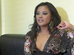 Stunning Office Sluts Kaylani Lei and Chanel Preston Have a Threesome