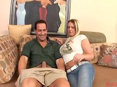 Jaylyn Rose the busty MILF gets fucked and jizzed on