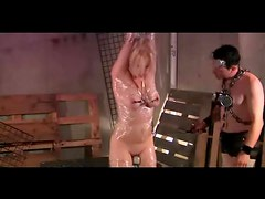Saran Wrapped Dominated And Fucked
