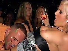 Big cock bangs blonde at party