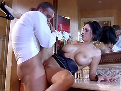 Bonerific Brunette Dylan Ryder Gets Fucked Hard and Then Facialized