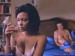 Hot Ebony Thandie Newton Waking Up After a Night Of Sex
