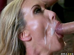 Busty Blonde MILF Brandi Love Gets Banged Hard In a POV Porn Video