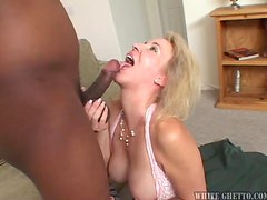 Gorgeous Mature Blonde MILF Is Looking For Black Cock