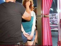 Red Head Fucked in the Ass in Public