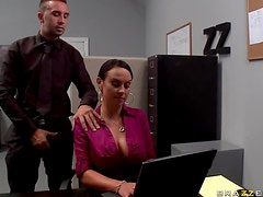 Huge Office Slut Mariah Milano Gets Fucked Hard In High Heels