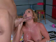 Sports-Loving Blonde MILF Nikki Delano Gets Fucked Hard By a Big Cock