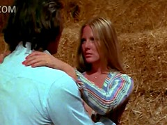 Sensual Retro Blonde Christina Hart Gets Banged In a Barn