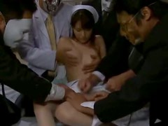 Triple Blowjob By This Hot Asian Nurse