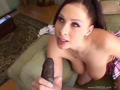 Interracial Sex With The Busty Gianna Michaels
