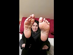 arabic feet fetish