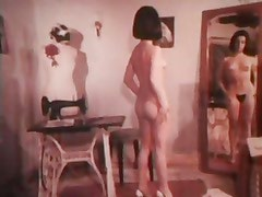 Vintage Dress maker striptease