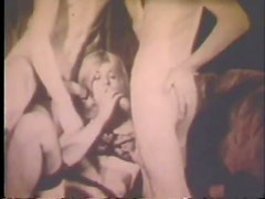 Vintage Threesome Sex With Sally Saint