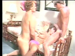 Elle Rio In A Retro Threesome With Joey Silvera & Jon Martin