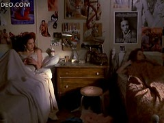 Foxy Babes Fairuza Balk and Ione Skye Fooling Around In Their Dorm