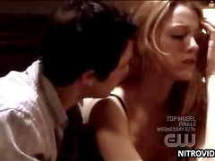 Spectacular Blonde Babe Blake Lively Gets Drunk and Shows Her Sexy Bra
