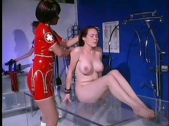 Latex Doctor And Nurse Have Fun With a Submissive Patient