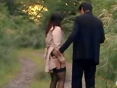 Japanese Cumshot In The Public Park