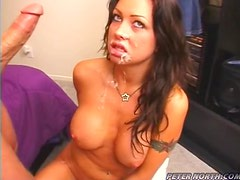 Chloe Dior pleases Peter North with a stunning blowjob