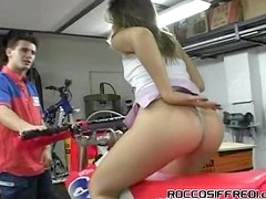 A Big Group Sex Party Happens Every Day In This Bike Store