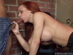 An Amazing Blowjob From Shannon Kelly To A Black Cock
