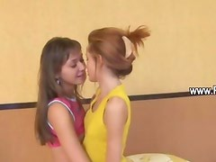 Extremely hot skinny ultracute lesbians